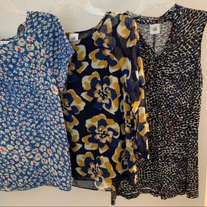 Set of 3 small CAbi blouses
